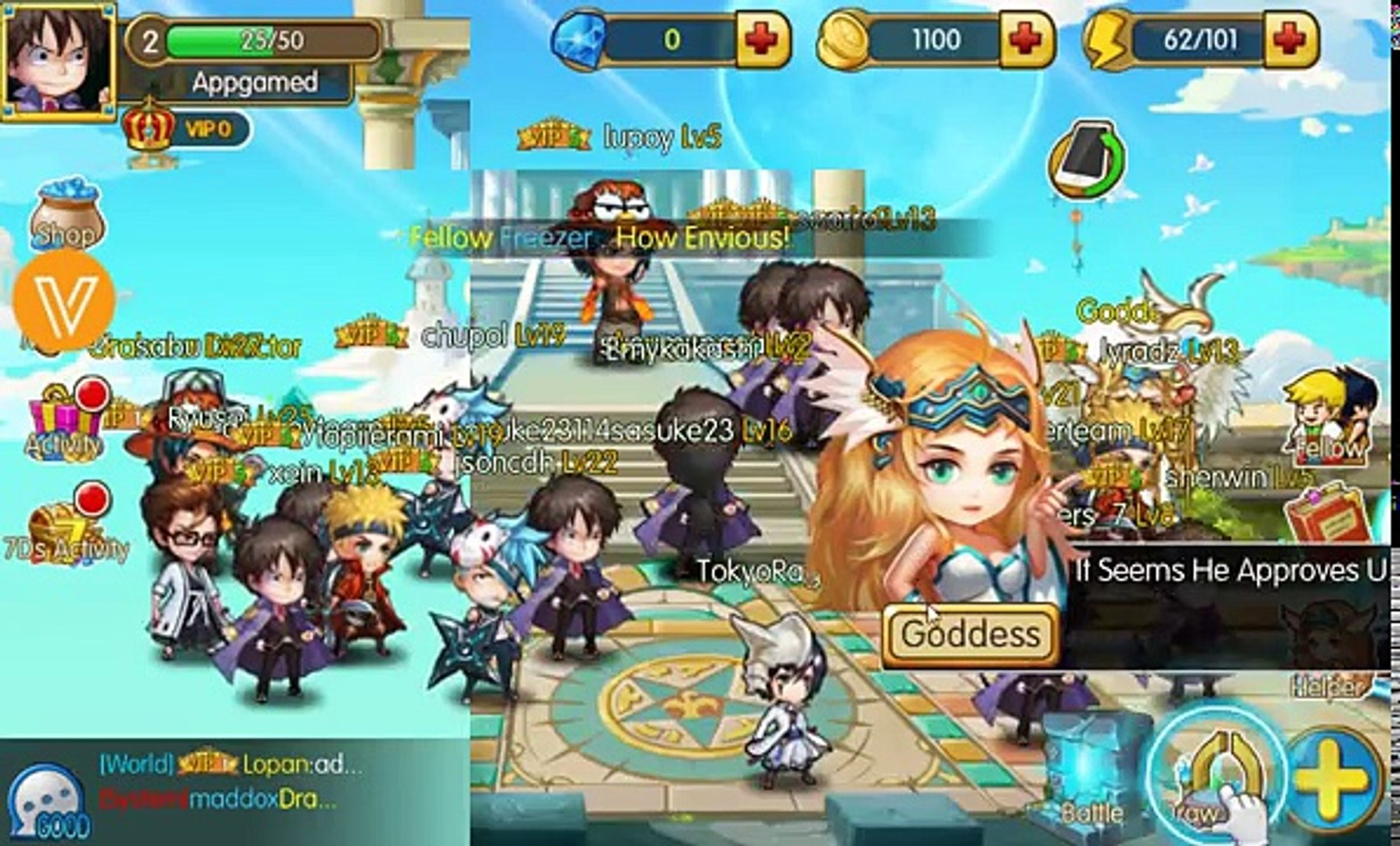 Anime Arena (Gameplay iOS / Android)