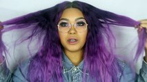 How I Got My Human Hair Full Lace Wig Purple and Lilac   KennieJD