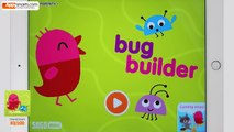 Sago Mini Game for Kids: Mini Bug Builder - app demo/gameplay