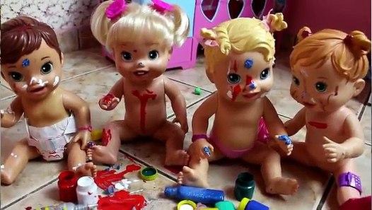 BABY ALIVE UMA BABÁ PARA AS BONECAS PARTE 1 Contratando A ...