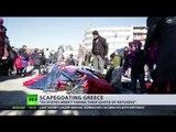 European bottleneck: Thousands of migrants stuck at Greece-Macedonia border