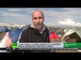 'Jungle' 2.0? Migrants set up makeshift camps on Greek border