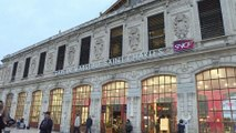 Marseille: la vie reprend à la gare Saint-Charles