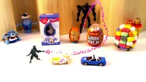 5 Kinder Surprise, YTFMM fun open toys, kids laughing