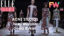 Chez Acne Studios, Issey Miyake et Sonia Rykiel I Fashion Week By ELLE Girl Printemps/Eté 2018! #5