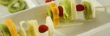اكلات سهلة :  مقبلات الجبن والخضار
