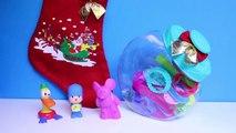 Pocoyo Christmas Play Doh Set Play-Doh Candy Jar Pocoyó en Navidad Pato Elly Покојо Lets Go Pocoyo
