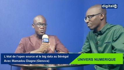 L'état de l'open source et le big data au Sénégal, avec Mamadou Diagne (Genova)