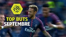 Top buts Ligue 1 Conforama - Septembre (saison 2017/2018)