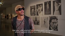 Museum of Modern Art   Jewellery in the eye of JoeyStarr as a part of Medusa, Jewellery and Taboos exhibition