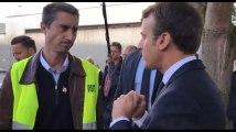 """Macron à Ruffin """" Je n'ai pas besoin de vous pour rencontrer les vraies gens"""""""