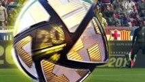 ウイイレ2016 バルセロナ対レアルマドリード サッカーゲームプレイ メッシ ネイマール PS4