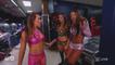 Emma, Mickie James, Alicia Fox, Nia Jax, Alexa Bliss Backstage Raw 10.02.2017