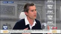 François Ruffin pourrait voter des textes non soutenus par La France insoumise