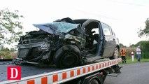 Une voiture percute un minibus scolaire à Estampes