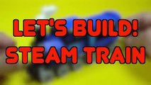 Lego Steam Train Building Instructions - Lego Classic 10696 How To""