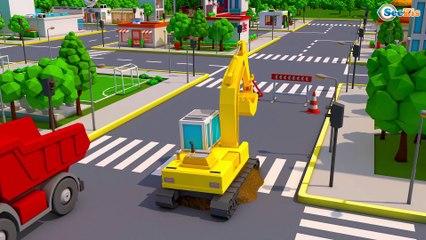 NOVO Pequeno Сaminhão - Pneu de Caminhão - Desenhos animados carros bebês