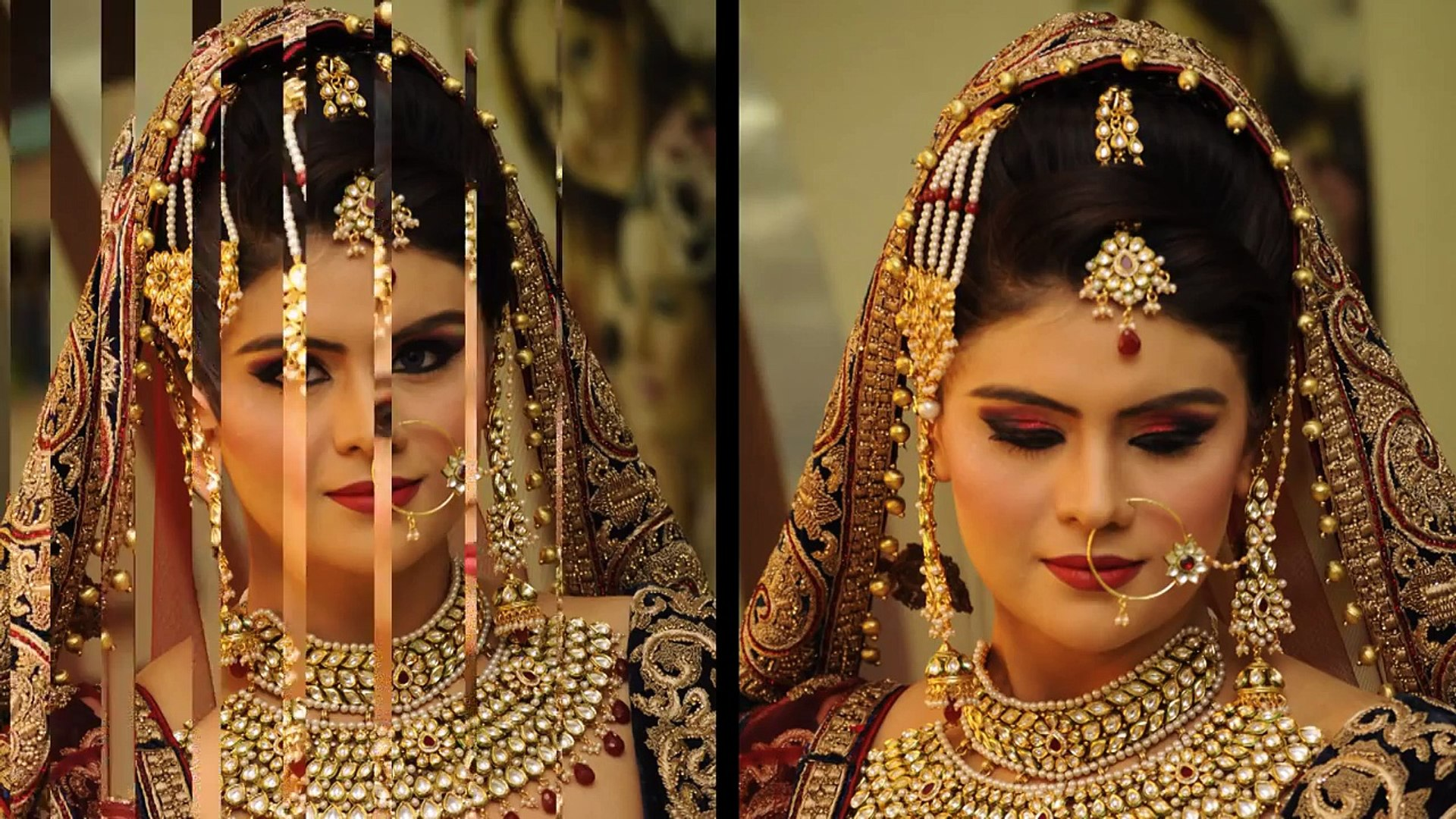 wedding makeup - indian traditional royal look