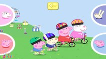 ☀ Peppa Pig Bicycle Race ☀ Peppa pig riding a Bicycle ☀ Peppa pig gameplay for kids ☀