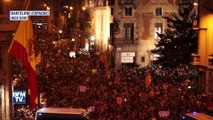 Des milliers de Catalans ont manifesté à Barcelone contre les violences policières