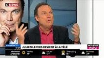 """EXCLU - Julien Lepers sera-t-il chroniqueur dans """"Touche pas à mon poste"""" sur C8 ? L'animateur répond ! - Regardez"""
