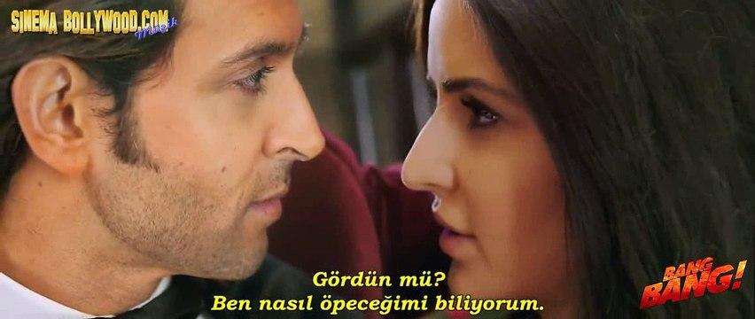 Öpüşme Sahnesi - BANG BANG! - Hrithik Roshan + Katrina Kaif-1