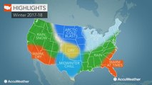 US winter forecast: Cold, snow to strike Northeast; Extreme cold to eye northern Plains
