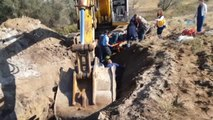 İçme Suyu İsale Hattında Toprak Kayması: 2 İşçi Yaralı