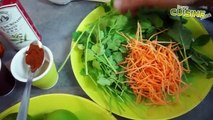 Recette des crêpes exotiques au lait de coco, poulet mariné au citron vert
