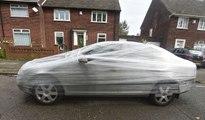 Un cretino siempre se estacionaba frente a su casa; él se vengó de la forma más graciosa posible