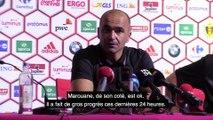 "Roberto Martinez: ""On remplacera Romelu poste pour poste s'il est absent"""