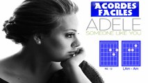 ADELE - SOMEONE LIKE YOU |COMO TOCAR SOMEONE LIKE YOY |ACORDES | HOW TO PLAY ON GUITAR