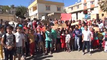 Gaziantep'te 'Öğrenci Servisi' Eylemi