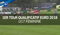 U17 Féminine, 1er Tour Euro 2018 : les buts