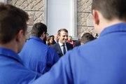 Déclaration du président de la République, Emmanuel Macron, lors de sa visite à l'EATP à Égletons