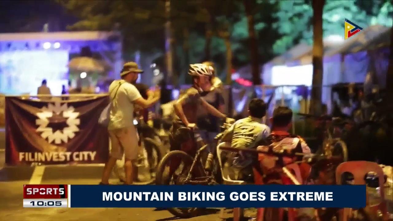 SPORTS NEWS: Mountain biking goes extreme