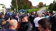 En direct - Egletons - Un salarié de GM&S a le genou cassé lors d'affrontements avec les CRS - Emmanuel Macron n'ira pas