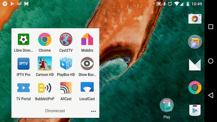 10 best Chromecast 2 applications for Android - Vidéo