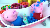 PEPPA GEORGE PIG M&Ms Candy Bath Tub Time TOY Surprises, Shopkins Happy Places, DORY Mashems / TUYC