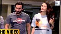 Kareena Kapoor And Saif Ali Khan Spotted Leaving Soha Ali Khan's Birthday Party
