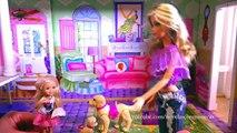 Juguetes de Barbie en español para niñas - Jugando con muñecas en el SUPERMERCADO DE BARBIE