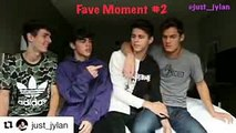 CUTE KISSING MOMENTS  JACKSON KRECIOCH & DYLAN GEICK