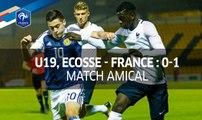 U19, Amical : Ecosse - France (0-1), le résumé I FFF