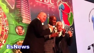 Bernard Hopkins 'I'm Just A Kid From Inner City!' Kostya Tszyu Honored By WBC EsNews Boxing-dfOt279HdvA