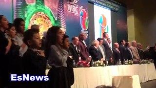WBC In Baku Azerbaijan national anthem EsNews Boxing-J7A3_BU0Ik8
