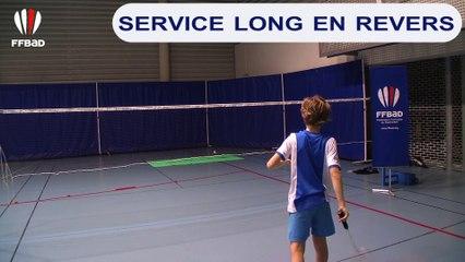 Service long en revers