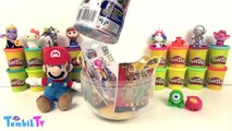 Süper Mario Sürpriz Yumurta Dev Oyun Hamuru Play Doh - Cicibiciler Emoji Num Noms