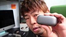 完全ワイヤレスのイヤホンAmps Airゲット!