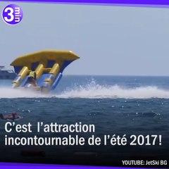 Mélange entre parachute ascentionnel et bouée tractée !