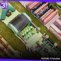 Le plus grand parc gonflable pour adultes !